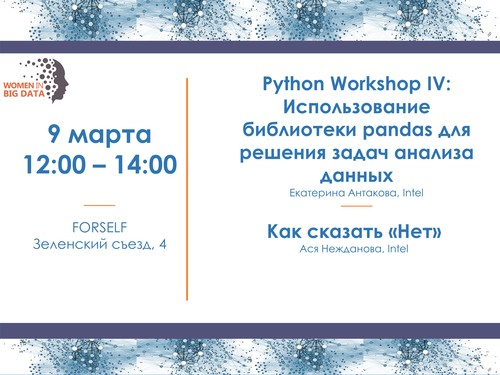 PYTHON WORKSHOP IV and Career Orientation