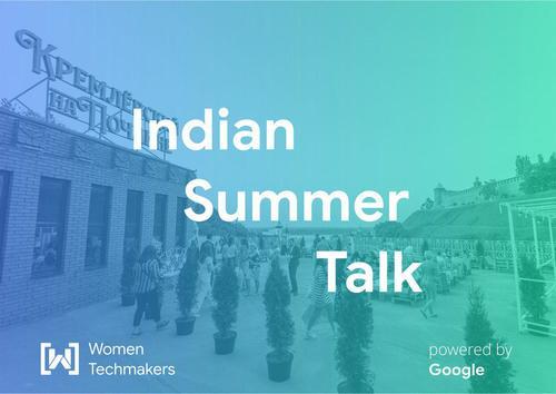 Indian Summer Talk