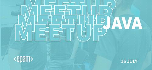 Java community meetup